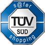 TÜV SÜD s@fer-shopping Prüfzeichen