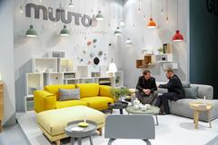 Muuto auf der Internationalen Möbelmesse