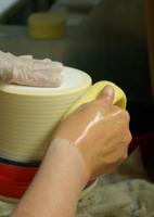 Handgearbeitete Porzellanschirme