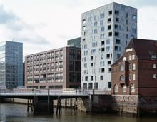 Gebäude in der Hamburger Hafencity von Antonio Citterio
