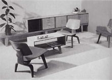 Plywood Group von Charles & Ray Eames