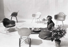 Plastic Chairs von Charles & Ray Eames