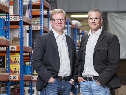 Connox-Geschäftsführer Thilo Haas und Kristian Lenz