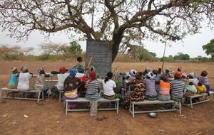 Alphabetisierungsprojekt in Burkina Faso