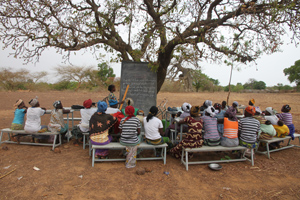 Schüler in Burkina Faso