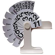 Danese Tischkalender Timor | Enzo Mari