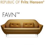 Favn Sofa von Fritz Hansen