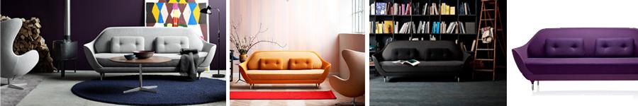 Favn Sofa von Fritz Hansen in Umgebungen