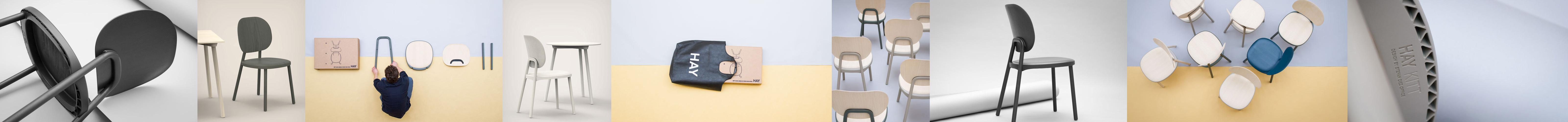 Bilderstrecke zum Kitt Chair von Stefan Diez für Hay