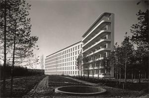 Tuberkulosesanatorium, Paimio, Finnland, Alvar Aalto, 1928–1933