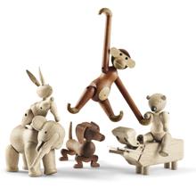 Holz-Tiere von Kay Bojesen und Rosendahl